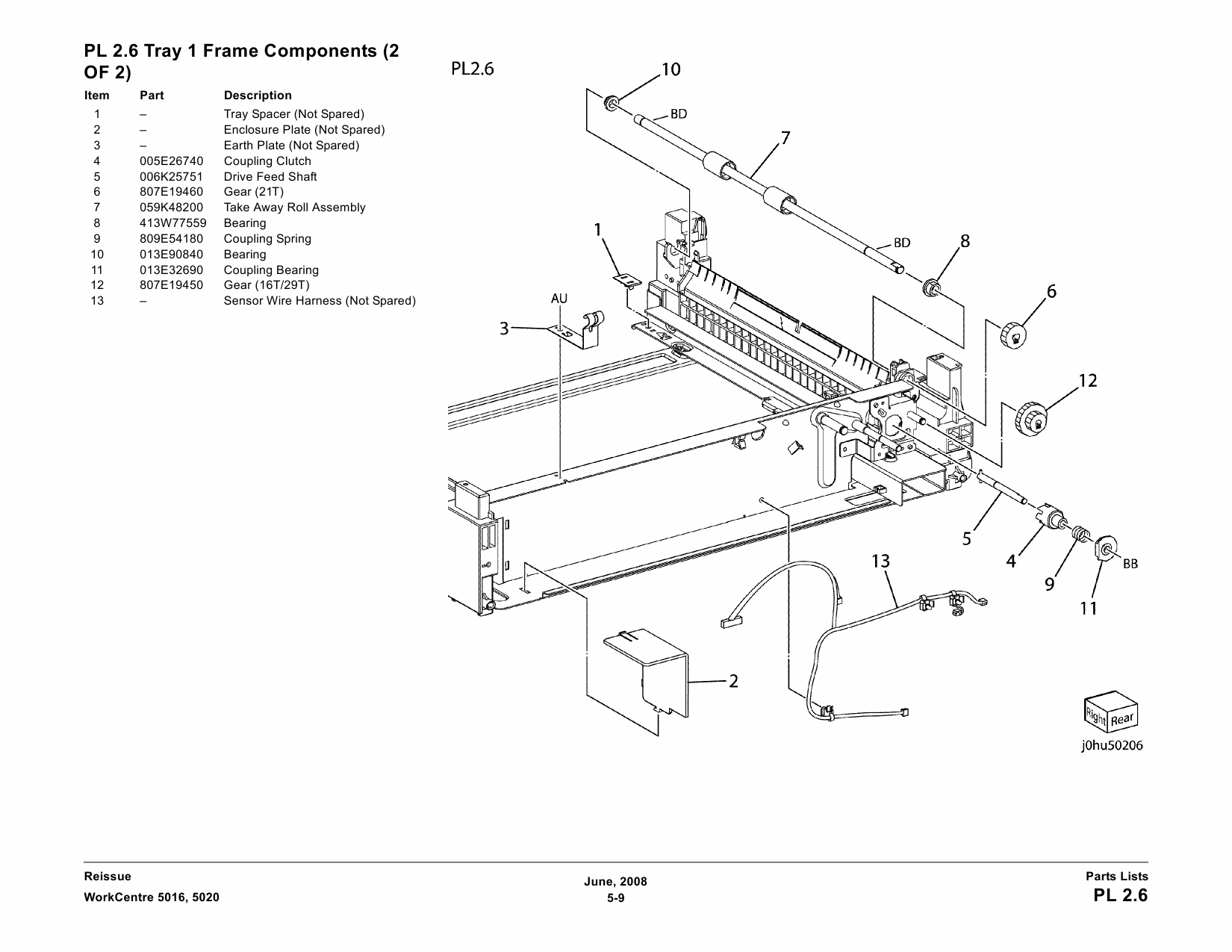 Xerox Workcentre Parts List And Service Manual
